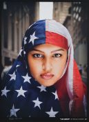 Ridwan Adhami, I am America, Farboffset von 2007 als Vorlage für Shepard Faireys We the people,