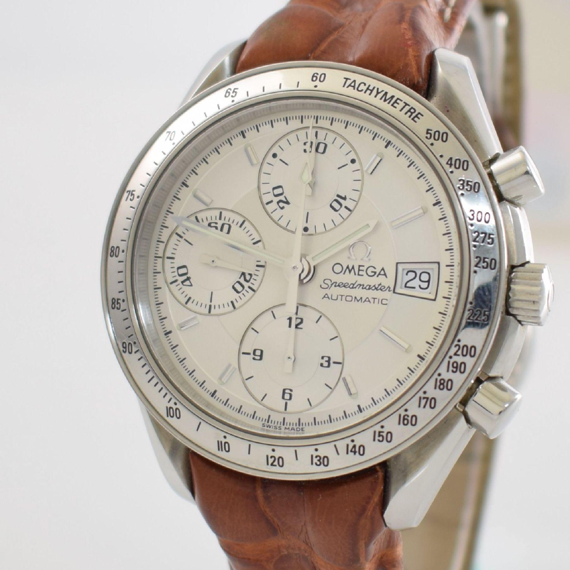 OMEGA Armbandchronograph Serie Speedmaster, Automatik, Schweiz um 1998, Ref. 1750083/3750083, - Bild 5 aus 8