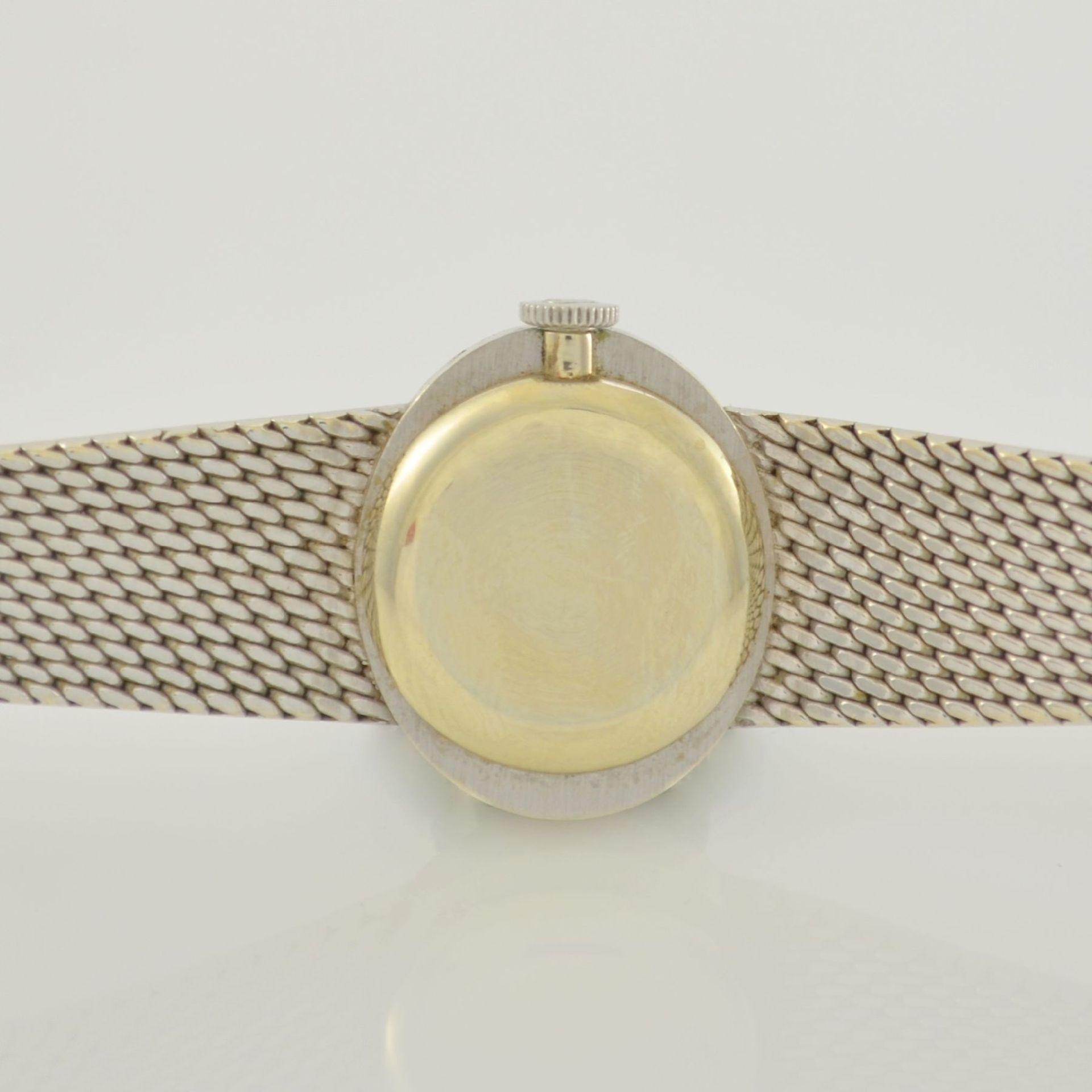 ROLEX Damenarmbanduhr in WG 750/000, Schweiz 1960er Jahre, Handaufzug, Boden aufgedr., - Bild 6 aus 6