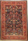 Sarogh alt, Persien, ca. 50 Jahre, Wolle auf Baumwolle, ca. 197 x 135 cm, EHZ: 2Saruk Rug ,