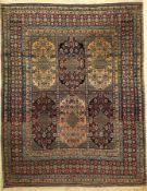 Teheran antik, Persien, um 1920, Wolle auf Baumwolle, ca. 192 x 150 cm, EHZ: 3Tehran Rug , Persia,