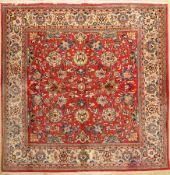 Sarogh fein, Persien, ca. 40 Jahre, Wolle auf Baumwolle, ca. 210 x 207 cm, EHZ: 2 unterer Berreich
