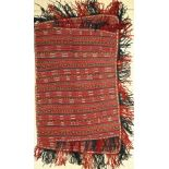 Pferdedecke alt, Turkmenistan, um 1920, Wolle auf Wolle, ca. 135 x 82 cm, EHZ: 2-3Horse-Cover ,