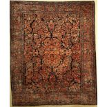 Sarogh US Re Import, Persien, um 1900/20, Korkwolle, ca. 300 x 243 cm, EHZ: 2-3US Saruk Carpet ,
