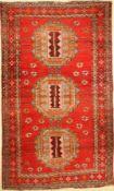 Karabagh alt (Turkmen Gül), Kaukasus, um 1930/1940, Wolle auf Wolle, ca. 210 x 125 cm, EHZ: 2-