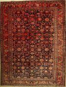 Nanaj alt, Persien, ca. 60 Jahre, Wolle aufBaumwolle, ca. 362 x 280 cm, EHZ: 2, (verblaßt)Nanaj
