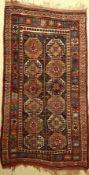 Kordi alt (Memling Gül), Persien, um 1890/1900, Wolle auf Wolle, ca. 294 x 160 cm, EHZ: 3-4Kordi Rug