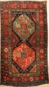 Chondzoresk Kazak antik, Kaukasus, um 1904 Datiert, Wolle auf Wolle, ca. 250 x 136 cm, EHZ: 3-