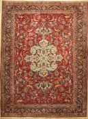 Keschan fein, Persien, um 1930, Korkwolle, ca. 407 x 301 cm, EHZ: 2-3Fine Kashan Carpet , Persia,