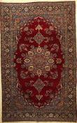 Kerman Ravar antik, Persien, um 1910, Korkwolle, ca. 220 x 140 cm, EHZ: 3Kirman Ravar Rug ,