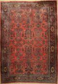 Us Re-Import Sarogh antik, Persien, um 1920, Wolle auf Baumwolle, ca. 460 x 320 cm, EHZ: 4-5US Saruk