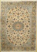 Keschan, Persien, ca. 40 Jahre, Wolle auf Baumwolle, ca. 296 x 213 cm, EHZ: 2-3Kashan Carpet ,