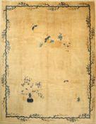 Peking antik, China, um 1900, Wolle auf Baumwolle, ca. 347 x 270 cm, EHZ: 4Beijing Carpet , China,