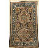 Ghom, Persien, ca. 40 Jahre, Wolle auf Baumwolle, ca. 204 x 104 cm, EHZ: 2-3Qum Rug , Persia,