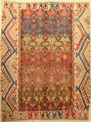 Aydin Kelim antik (Fragment), Türkei, Elibelinde-Design, Ende 19.Jhd., Wolle auf Wolle, ca. 233 x