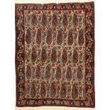 Senneh alt, Persien, ca. 50 Jahre, Wolle auf Baumwolle, ca. 154 x 116 cm, EHZ: 2Senneh Rug , Persia,