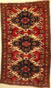 Anatol alt, Türkei, ca. 60 Jahre, Wolle aufWolle, ca. 200 x 115 cm, EHZ: 2-3Anatol Rug , Turkey,