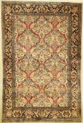 Seiden Ghom alt, Persien, ca. 50 Jahre, reine Naturseide, ca. 160 x 106 cm, EHZ: 2Silk Ghom Rug ,