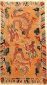 Tibet Drachenteppich, um 1900, Wolle auf Wolle, ca. 145 x 86 cm, EHZ: 4Tibet Dragon Carpet ,