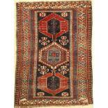 Schirwan antik, Kaukasus, um 1900, Wolle auf Wolle, ca. 180 x 135 cm, EHZ: 4Shirvan Rug ,