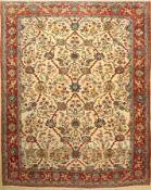 Ghom, Persien, ca. 50 Jahre, Wolle auf Baumwolle, ca. 305 x 245 cm, EHZ: 3Qum Carpet , Persia, circa