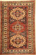 Zeijwa fein (Re-Produktion), Afghanistan, ca. 20 Jahre, Wolle auf Wolle, ca. 226 x 149 cm, feine