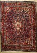 Bidjar, Persien, ca. 50 Jahre, Wolle auf Baumwolle, ca. 328 x 234 cm, EHZ: 2(leicht verblasst)