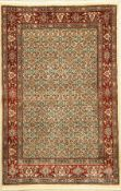 Mud fein, Persien, Korkwolle, ca. 150 x 105cm, EHZ: 2Moud Rug, Persia, wool/cotton, approx. 150 x