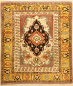 Ghouchan, Persien, ca. 40 Jahre, Wolle auf Wolle, ca. 160 x 140 cm, EHZ: 2Fine Ghouchan Rug ,