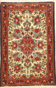 Ghom, Persien, ca. 40 Jahre, Wolle auf Baumwolle, ca. 230 x 138 cm, EHZ: 2Qum Rug , Persia, circa 40