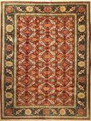 Hereke alt Signiert, Türkei, ca. 50 Jahre, Wolle auf Baumwolle, ca. 314 x 240 cm, EHZ: 2-3Hereke