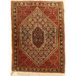Bidjar Kork, Persien, ca. 50 Jahre, Korkwolle, ca. 129 x 95 cm, EHZ: 2Bijar Rug , Persia, approx. 50