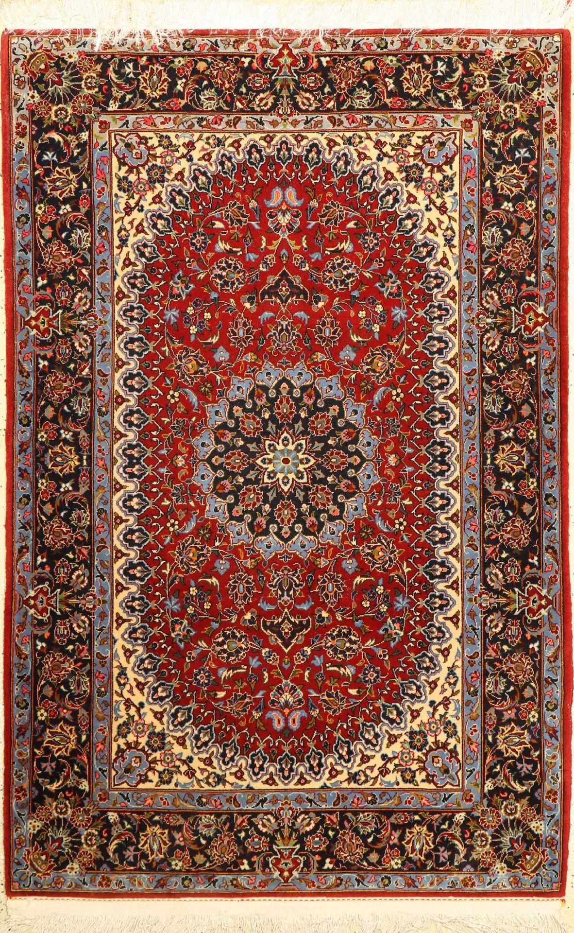 Keschan Kork, Persien, ca. 40 Jahre, Korkwolle, ca. 170 x 111 cm, EHZ: 2Kurk Kashan Rug, Persia,