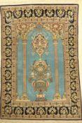 Ghom alt, Persien, ca. 40 Jahre, Wolle auf Baumwolle, ca. 204 x 144 cm, EHZ: 2-3Qum Rug , Persia,