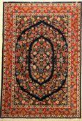 Ghom fein, Persien, ca. 30 Jahre, Korkwolleauf Seide, ca. 200 x 136 cm, EHZ: 2Fine Qum Rug , Persia,