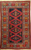Karabagh alt, kaukasus, um 1920, Wolle auf Wolle, ca. 203 x 130 cm, EHZ: 3-4Karabagh Rug , Caucasus,