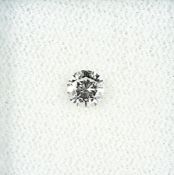 Loser Brillant, ca. 0.32 ct get./vvs Schätzpreis: 950, - EURLoose brilliant, approx. 0.32 ct Cape/