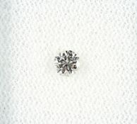 Loser Brillant, 0.22 ct l.get.Weiß/vvs Schätzpreis: 420, - EURLoose brilliant, 0.22 ct Crystal/vvs
