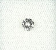 Loser Brillant, 0.32 ct Weiß/vvs Schätzpreis: 1200, - EURLoose brilliant, 0.32 ct Wesselton/vvs