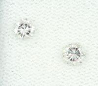 Lot 2 lose Brillanten, ca. 0.40 ct feines Weiß/vsLot 2 loose brilliants , approx. 0.40 ct