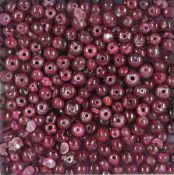 Lot lose Rubinkugeln, zus. ca. 84.3 ct, gebohrt, Durchm. ca. 3 mm, z.T. besch. Schätzpreis: