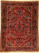 Lilian alt, Persien, ca. 70 Jahre, Wolle auf Baumwolle, ca. 145 x 109 cm, EHZ: 2-3Lilian Rug,