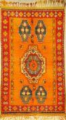 Atlas alt, Marokko, ca. 50 Jahre, Wolle aufWolle, ca. 238 x 143 cm, EHZ: 2Maroc Atlas Rug,