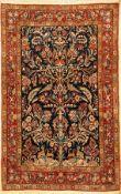 Ghom alt, Persien, ca. 60 Jahre, Wolle auf Baumwolle, ca. 216 x 140 cm, EHZ: 2Qum Rug, Persia, circa