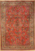 """Sarogh alt, Persien, ca. 40 Jahre, Wolle auf Baumwolle, ca. 288 x 200 cm, EHZ: 2Saruk """"Small"""