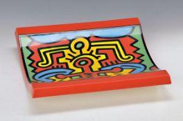 Keith Haring, 1958 Kutztowen - 1990 New York, Spirit of Art, New York Soho, The Estate of Keith