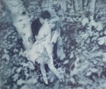 "Gerhard Richter, geb. 1932, ""Lovers in the Forest"" 1995, Herausgeber : The Israel Museum Tel Aviv,"