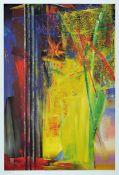 Gerhard Richter, geb. 1932, Victoria II, Farboffset auf Karton, drucksigniert, Hrsg. Achenbach Art
