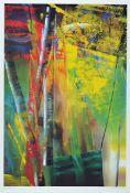 Gerhard Richter, geb. 1932, Victoria I, Farboffset auf Karton, drucksigniert, Hrsg. Achenbach Art
