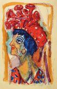 Otto Dix, 1891 Untermhaus-1969 Singen, Contessa, Farblithographie, handsigniert und datiert 62,